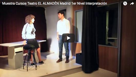 Cursos de teatro y clases de canto en Madrid
